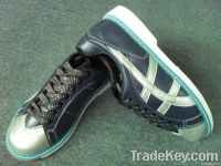 mixed order available ! leather member  bowling shoes