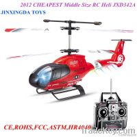 2012 Hottest Sell & CHEAPEST Middle Size RC Heli JXD342A 3.5CH RC Heli