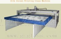 Semi-automatic Silk Screen Printing Glass Machinery