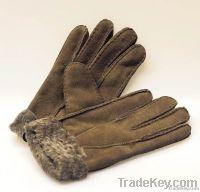 Australia double face sheepskin glove sheepskin mittens