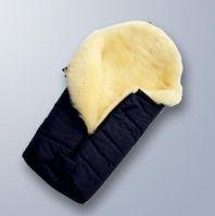 Eco-friendly natural Australia merino baby sheepskin sleeping bag