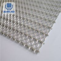 China's good manufacturers custom stainless steel decorative mesh curtain