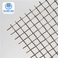 Decorative Mixed Woven SS and Copper Architectural Mesh