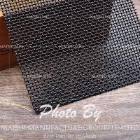 Powder coat 0.9mm high tensile security bullet proof mesh screen