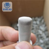 oil filter mesh cylinder/stainless steel tube