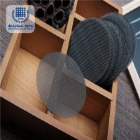 304 stainless steel wire mesh deep processing filter disc