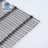 Metal decorative mesh with a wire diameter of 0.8mm