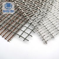 Woven decorative mesh that can be designed