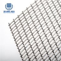 Plain Weave Woven SS Decorative Metal Mesh