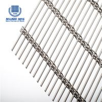 Stainless steel metal mesh architectural partition divider screen
