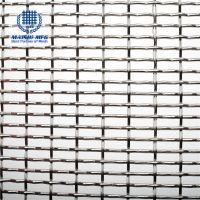 Aperture 6mm metal mesh woven decorative mesh