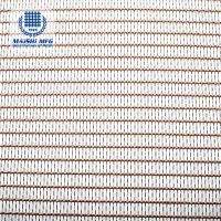 Mixed woven SS and copper decoration screen