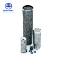 High Quality Stainless Steel Welded Tube Filter Mesh