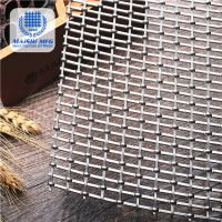 Crimp woven type stainless steel decorative wire mesh