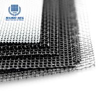 Marine grade 316 10 mesh security mesh screen for window