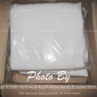 Precision white nylon filter cloth