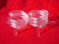 Clear Quartz Tube Helix