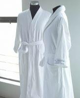 Luxury hotel bathrobe