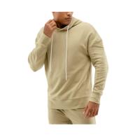 customise men warm gym fitness hoodie pullover fleece french terry cotton velour/velvet