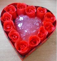 Rose Flower Shape Soap (Gift Packing)