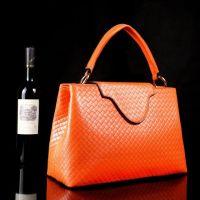 2014 brand new design trend elegance casual funtion high quanlity weave woman handbag