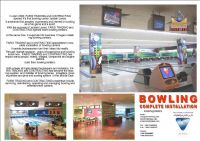 Bowling Complete Installation, Bowling Machines and Equipment