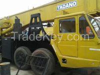 used tadano  80 ton crane