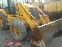 used JCB 3CX backhoe with jack hammer