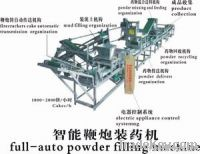 chemical powder filling machine for firecrackers
