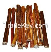 BULLY STICKS--Dried Beef Pizzle
