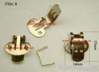 blank DIY metal clips