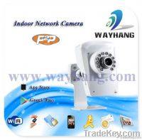 P2P Indoor IP Network Camera