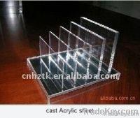 High gloss transparent acrylic sheet