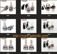 Wholesale Car LED headlight bulb, LED headlamp bulb 6000lm each bulb