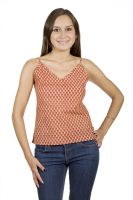 Camisole Cotton Printed