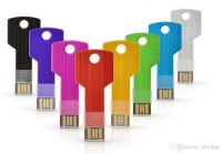 Logo Print Key Shape USB Flash Drive Disk 1GB-32GB