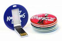 Round Card USB Flash Drive