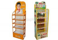 Metal display rack for retail store