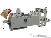 Automatic foods paper bag making machine