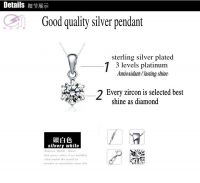 pendants, platinum silver necklace pendants