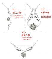 silver necklace pendants  women style jewelry