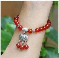 supply semi-gemstone beads bracelets --SL124