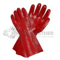 PVC Dipped Gloves Hand Protection Oil Resistant