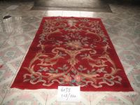 90L knotted rug