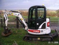 Bobcat 428 Digger