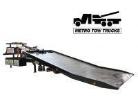 Flat Bed Carrier Tow Truck with Wheel Lift