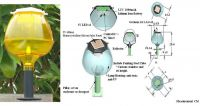 AT02-Green Energy: Solar LED Garden Light / Lamp