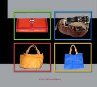 Shoes, sandal, Boots, Pumps, Bag, Belt, Key ring, Card Holder