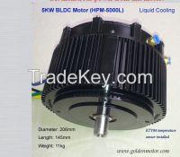 Sell CE Approved 72v 5KW brushless motor for car, motorcycle, boat, golf cart, atv