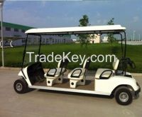 Sell  6 seats electric golf carts ,48v,5kw brushless motor
